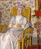 The Artists Mother Exhibited 1913 - Harold Gilman