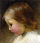 Portrait of a Girl 1887 - Helene Schjerfbeck