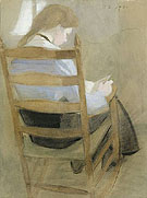 Girl Reading 1904 - Helene Schjerfbeck