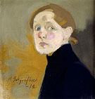 Self Portrait - Helene Schjerfbeck