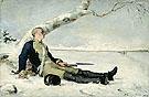 Haavoittunut Soturi Hangella 1880 - Helene Schjerfbeck