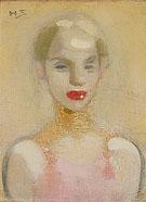 Circus Girl 1916 - Helene Schjerfbeck