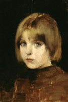 Portrait of a Girl 1886 - Helene Schjerfbeck