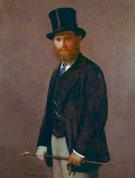 Portrait of Edouard Manet - Henri Fantin Latour