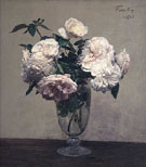 Vase des Roses 1875 - Henri Fantin Latour