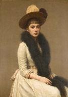 Portrait of Sonia - Henri Fantin Latour