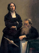 Mr and Mrs Edwin Edwards 1875 - Henri Fantin Latour
