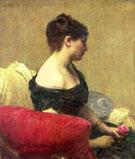 Portrait of Madame Maitre - Henri Fantin Latour