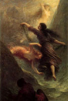 Szene aus Das Rheingold 1888 - Henri Fantin Latour