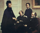 The Dubourg Family - Henri Fantin Latour