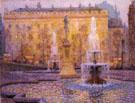 Trafalgar Square Londres - Henri Le Sidaner