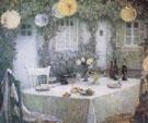 Table Beneath Lanterns 1924 - Henri Le Sidaner