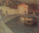 House by The Sea at Dusk 1927 - Henri Le Sidaner