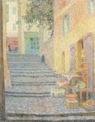 The Italian Boutique 1924 - Henri Le Sidaner