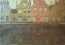 The Quay 1898 - Henri Le Sidaner