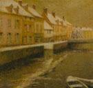 Canal in Bruges Winter 1899 - Henri Le Sidaner