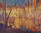 Beaver Dam and Birches - J.E.H. MacDonald