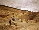 The Quarry of Monsieur Pascal Near Nanterre - Jean Charles Cazin