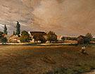 Harvest Landscape - Jean Charles Cazin