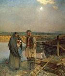 Weary Wayfarers 1885 - Jean Charles Cazin