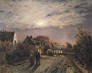 Sunday Evening in a Miners Village - Jean Charles Cazin