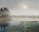 Mist on The River c1851 - Jean Charles Cazin