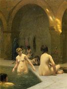 Bathers - Jean Leon Gerome