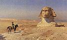 Bonaparte Before The Sphinx c1867 - Jean Leon Gerome