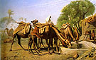 Camels at The Trough 1857 - Jean Leon Gerome