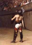 Gaulish Gladiator - Jean Leon Gerome