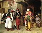 Old Clothing Merchant in Cairo aka Roaving Merchant in Cairo 1866 - Jean Leon Gerome