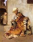Pelt Merchant of Cairo 1869 - Jean Leon Gerome