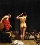 Selling Female Slaves in Rome - Jean Leon Gerome