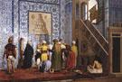 The Blue Mosque - Jean Leon Gerome