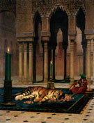 The Grief of The Pasha - Jean Leon Gerome