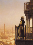 The Muezzin 1866 - Jean Leon Gerome