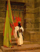 Unfolding The Holy Flag - Jean Leon Gerome