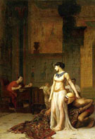 Cleopatra and Caesar 1866 - Jean Leon Gerome