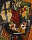 Table by a Window 1917 - Jean Metzinger