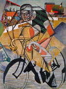 At The Cycle Race Track c1914 - Jean Metzinger