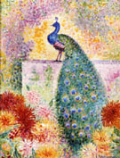 A Peacock - Jean Metzinger