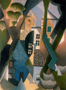 Le Village - Jean Metzinger