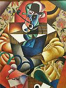 Man with Pipe 1912 - Jean Metzinger