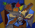 Still Life with Pineapple - Jean Metzinger