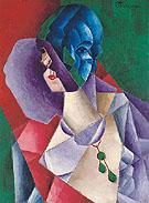 Tete de Femme 1916 - Jean Metzinger