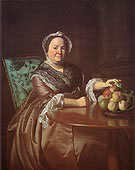 Mrs Ezekial Goldthwait 1771 - John Singleton Copley