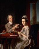 Portrait of Mr and Mrs Thomas Mifflin - John Singleton Copley