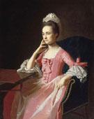 Dorothy Quincy Hancock Scott 1772 - John Singleton Copley