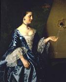 Portrait of Alice Hooper c1763 - John Singleton Copley
