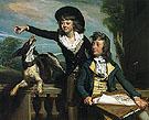 Charles Callis Western and His Brother Shirley Western 1783 - John Singleton Copley